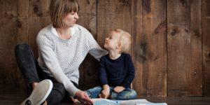 otrok in mama pogovor, trma