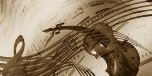 glasba note